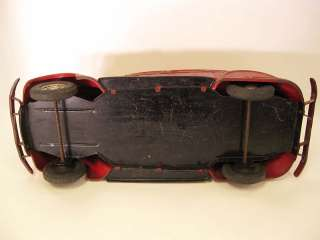 Chrysler Airflow Pressed Steel Original Toy Car by Cor Cor, 16.5 long