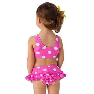 Polka Dot Minnie Mouse Swimsuit    2 Pc.
