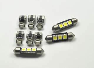 VW MK4 GOLF JETTA 10 PIECE LED INTERIOR LIGHT KIT WHITE