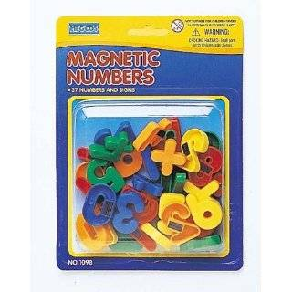 Plastic Magnetic Letters Toys & Games