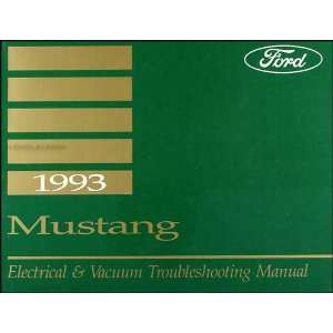 1993 Ford Mustang Electrical & Vacuum Troubleshooting