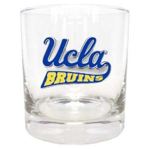NCAA UCLA Bruins Round Rocks Glass