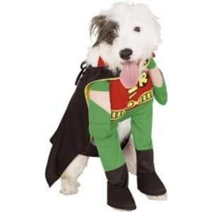 Dog Fancy Dress Costume Robin Deluxe   Size Large Toys