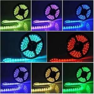 Abco Tech Flexible Color Changing RGB Ribbon Flexible LED Light Strip