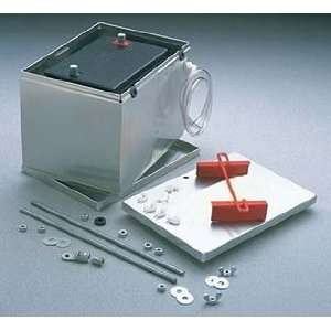 Taylor Cable 48201 Aluminum Battery Box with 2 Gauge Cable Automotive