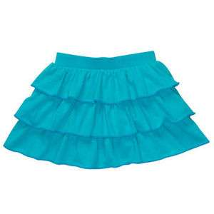 NWT OshKosh Infant & Toddler Girls Turquoise Ruffled Skort