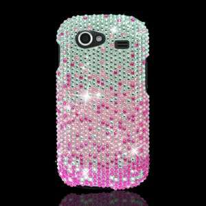 FOR SAMSUNG GOOGLE NEXUS S 4G I9020 PINK RHINESTONE CRYSTAL PHONE CASE