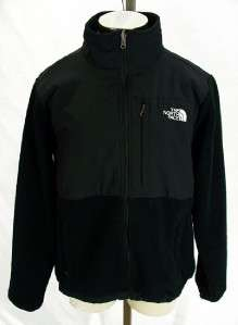 The North Face NICE WOMENS Black Fleece Full Zip Jacket Sz L P53a