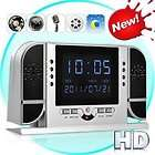 Hidden Camera Alarm Clock Security Camera Motion/Voice Detection, NV