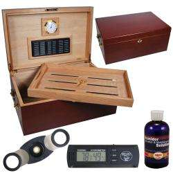 Crafters Perfect Humidor with Digital Hygrometer Set