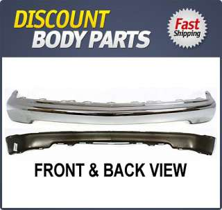 Front Bumper New Chevy S 10 Pickup Chrome Chevrolet Blazer 2004 99 Car