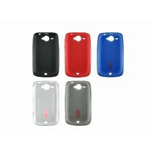 5x Soft TPU Gel Case Cover Shell Skin for HTC Wildfire