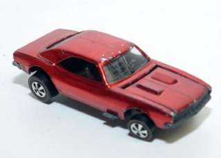 1967 Mattel Hot Wheels CUSTOM CAMARO Redline Red Line