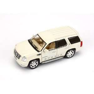 143 Die Cast 2009 Cadillac Escalade Hybrid, White Toys & Games