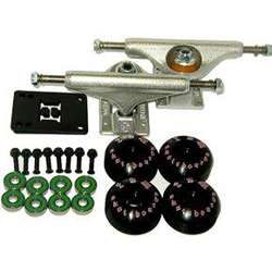 Independent Skateboard Low Truck Wheel Package