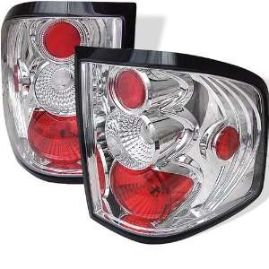 Ford F150 Flareside 04 05 06 07 08 Altezza Tail Lights   Chrome (Pair)