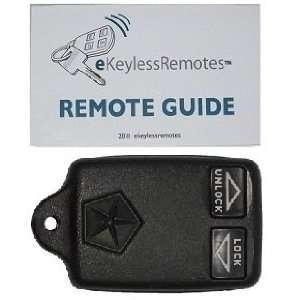 Lebaron Keyless Entry Remote Fob With Do It Yourself Programming