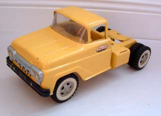 1960s TONKA YELLOW SEMI TRUCK CAB EXCELLENT CONDITION