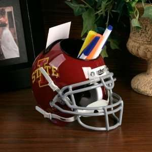 Schutt Iowa State Cyclones Red Mini Football Helmet Desk
