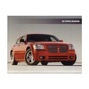 2006 DODGE MAGNUM Sales Brochure Literature Book