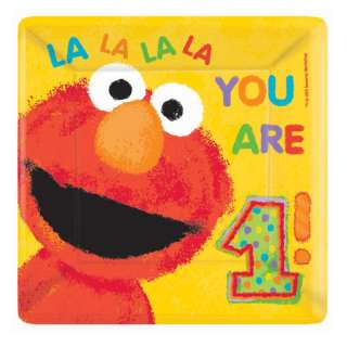 Sesame Street ELMO 1st Birthday Party Supply Set (18)