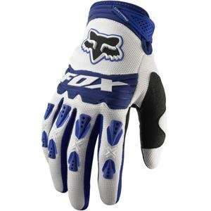 Fox Racing Dirtpaw Race Gloves   X Large (11)/Blue Automotive