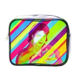 Colorful Michael Jackson Collectible Mini Toiletry Bag Beauty