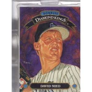 DENVER ROCKIES EXPANSION DRAFT CARDS DONRUSS KINGS 1993