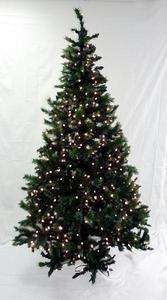 Lit Frosted Mixed Pine Artificial Christmas Tree   Clear Lights
