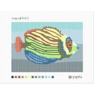 Tropical Fish 3 Needlepoint Canvas Arts, Crafts & Sewing