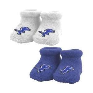 Detroit Lions Blue & White Infant 2 Pack Bootie Set