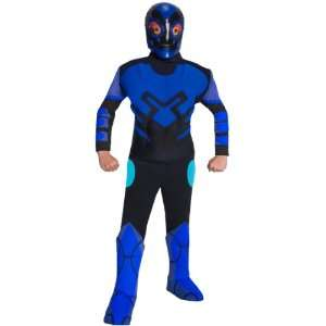 Deluxe Muscle Chest Kids Blue Beetle Costume Toys & Games