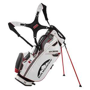 Sun Mountain 2012 HYBRID Golf Bag with Stand BLACK WHITE RED BRAND