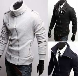 Mens Slim Fit Casual Stylish Outwear Coat Trench h041