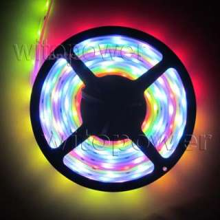 Color Flash RGB 6803 IC chip SMD LED Strip 94 change Waterproof