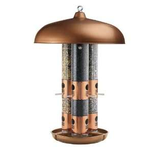Opus Heavy Duty Top Flight Copper Triple Tube Feeder, Indestructible