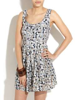 White Pattern (White) Zuzi Zuzi White Postcards Prom Dress  253620919