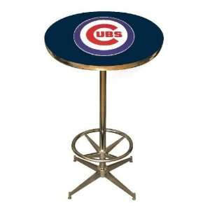 Chicago Cubs 40in Pub Table Home/Bar Game Room