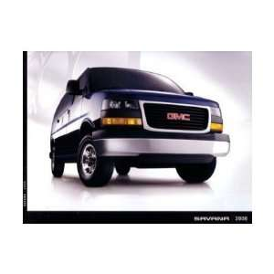 2006 GMC SAVANA Sales Brochure Literature Book Piece