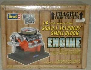 CARS  350 C.I. LT 1 CHEVY SMALL BLOCK ENGINE MODEL KIT