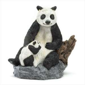 Panda Bear and Cub Figurine Only 1 left