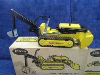 TONKA TRENCHER EXCELLENT CONDITION 2534 IN BOX PRESSED STEEL TOY TRUCK