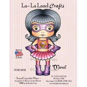 Crafts Cling Rubber Stamp, Super Cupcake Marci Arts, Crafts & Sewing