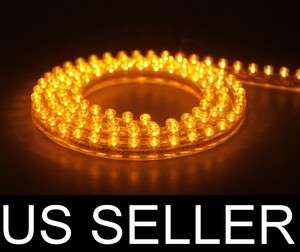 24cm Car Truck Boat PVC LED Grill Light Strip AMBER