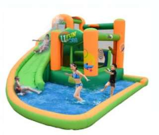 Inflatable Bounce House and Water Slide Air Blown Game