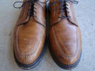 Mens ALLEN EDMONDS #1961 WILBERT Shoes BROWN Calf Leather Size 14