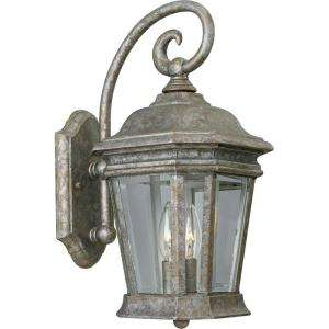 Lighting Crawford Collection Golden Baroque 2 light Wall Lantern