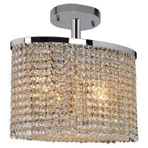 Worldwide Lighting Prism Collection 4 Light Ceiling Light W33763C16 at