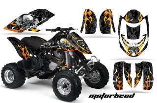 AMR RACING GRAPHIC DECAL KIT ATV CANAM BOMBARDIER DS650 DS 650 X