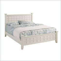 Home Styles Arts & Crafts Queen Cottage Oak Finish Bed 095385812980